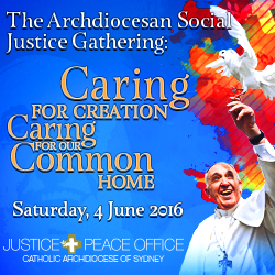 Catholic Archdiocese of Sydney - Justice and Peace (16 May)