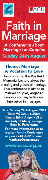 CCSS Faith in Marriage (19 Aug)