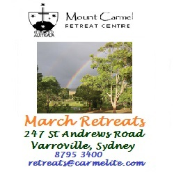 Mount Carmel Retreats (10 Mar)