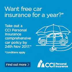 CCI Win your car premium back - 131117