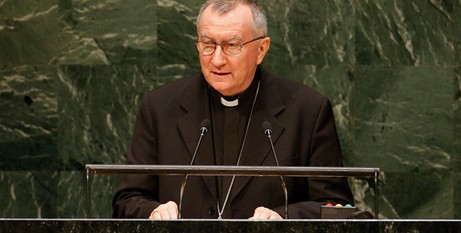 Cardinal Parolin at UN
