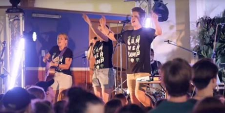 Young people at the Ignite Summer Camp (Catholic Leader)