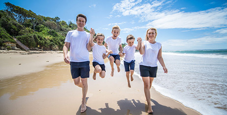 The Hyland family from NSW will represent Australia at the World Meeting of Families (The Catholic Weekly/Giovanni Portelli)