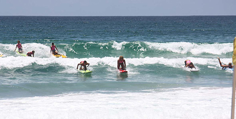 Open ocean surfing and surf lifesaving events have been banned (CSO Lismore)