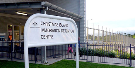 Reopening the detention centre cost the government $185 million (ABC/Hayden Cooper)