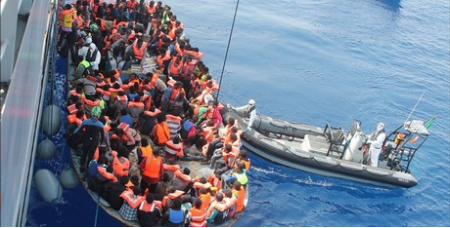 Refugees in the Mediterranean