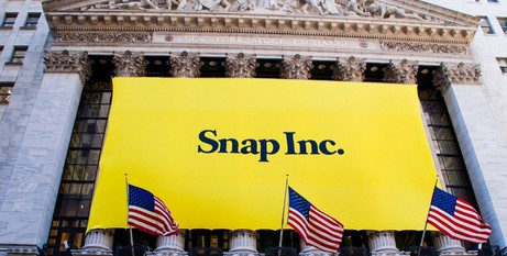 Snap IPO at New York Stock Exchange