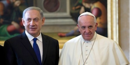 Francis and Netanyahu