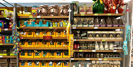 Easter eggs have been in the supermarkets since January (Bigstock)
