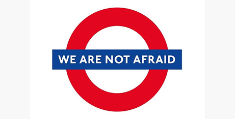 Londoners stand strong in the face of attack (Twitter)