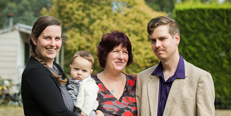 The Simpson family (Laura Cheung, iCapture Photography)