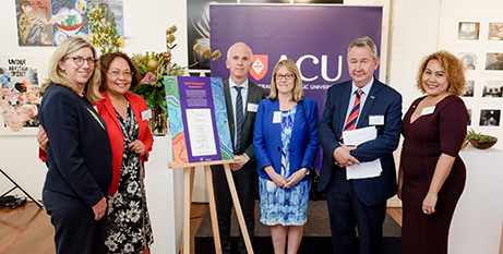 The launch of the ACU Reconciliation Action Plan (ACU)