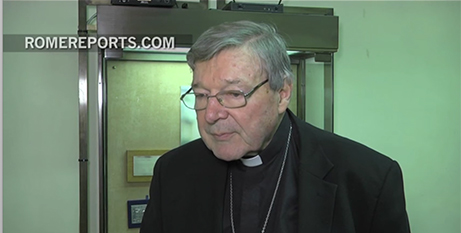 Cardinal George Pell (Rome Reports)