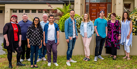The housemates in Christians Like Us (SBS News)