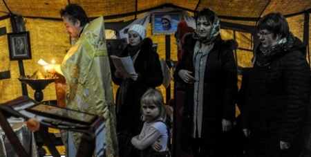 Prayers in Ukraine