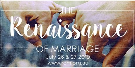 Sponsorship applications for the Renaissance of Marriage conference close at the end of April (ACBC)