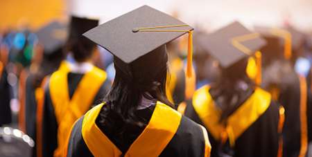 The report revealed Catholics today are two times more likely to have graduated university than Catholics 20 years ago (Bigstock)