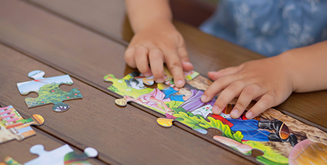 The HIPPY program focuses on early education in the home (Bigstock)