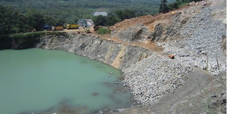 Quarrying a threat