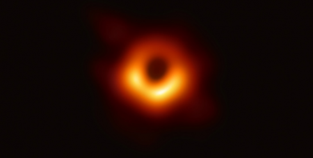 The photo of the black hole taken by the Event Horizon Telescope (Wikimedia/Event Horizon Telescope)