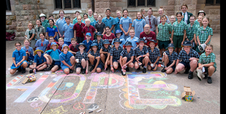 Students come together for Project Compassion at St Stephen's Cathedral in Brisbane (KISS photography)