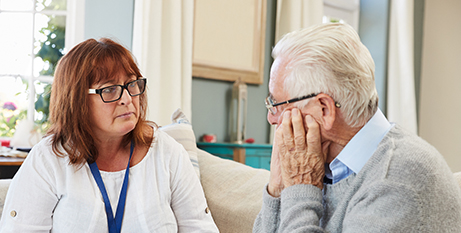 The study is examining pastoral care for aged care patients and residents (Bigstock)