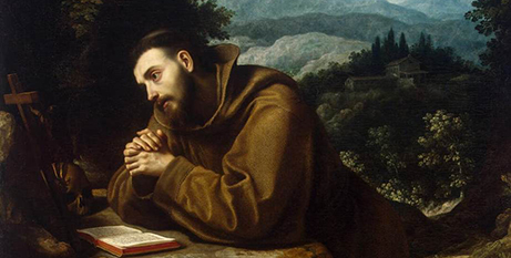 St Francis of Assisi by Cigoli (Wikimedia)