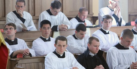Priesthood over celibacy
