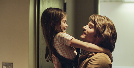 Mike Vogel and Haley Rosenwasser in The Case for Christ (Pure Flix)