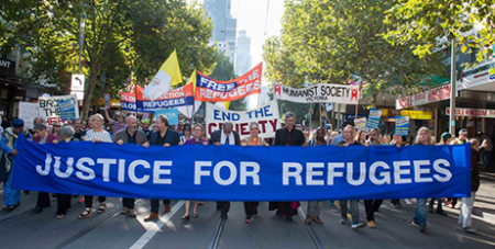 Palm Sunday Refugee Rally in Melbourne 2019 (CAPSA)