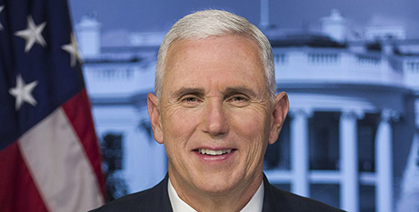 US Vice President Mike Pence (Wikipedia)