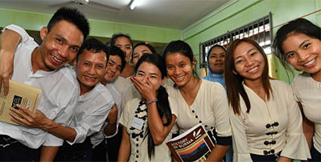 Students in Myanmar supported by the work of Catholic Mission (Catholic Mission)