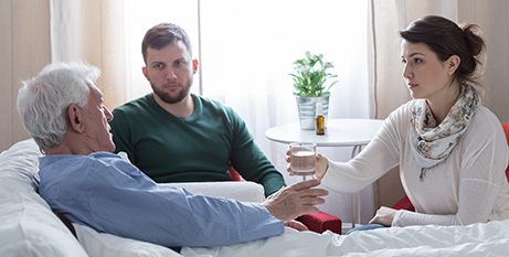 The AMA recommends discussing end-of-life care with family and doctors (Bigstock)