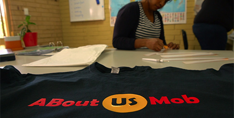 ABout Us Mob t-shirts (Centacare Employment and Training)
