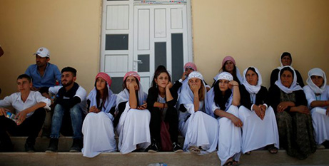 Yezidis in Iraq who survived an Islamic State genocidal campaign (CNS/Suhaib Salem)