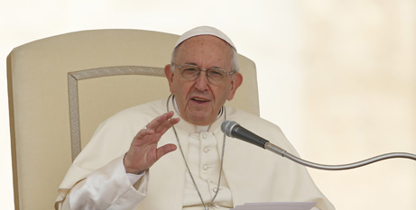 Pope Francis  (CNS)