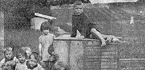 Irish children from home 1920s