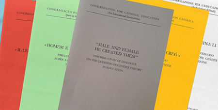 "The new document from the Congregation for Catholic Education ""Male and Female He Created Them"" (Vatican Media)"