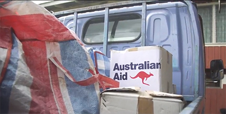 Australia's aid contribution is already the smallest share of gross national income on record (DFAT)