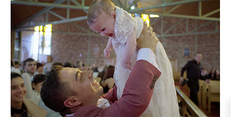 A screenshot from the Wollongong Diocese's new video (Wollongong Diocese)