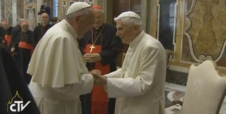 Pope Francis and Pope Benedict/CTV