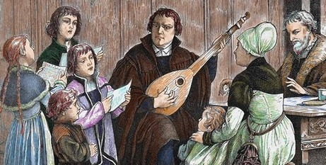 Martin Luther/The Guardian