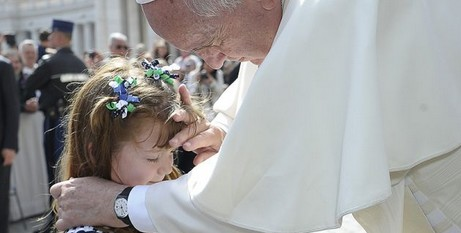 Powerful Papal moment
