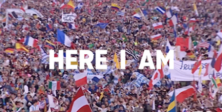 A screenshot from the WYD 2019 English version film clip (YouTube/Panama2019)