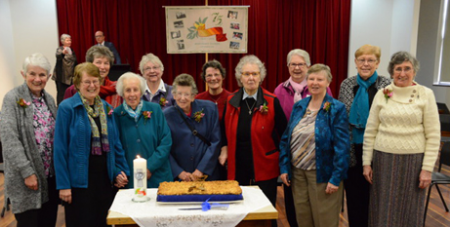 Members of the Missionary Sisters of Service celebrating their 75th anniversary in Melbourne (MSS/Fiona Basile)