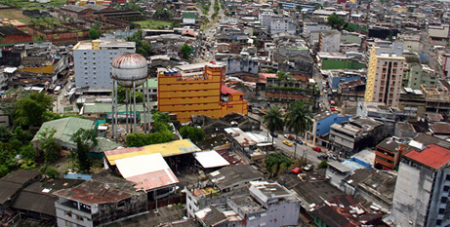 The Colombian city of Buenaventura  (Wikimedia Commons)
