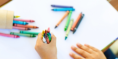 Colouring in is an alternative activity to scripture classes (Bigstock)