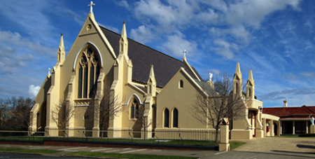 St Mary's Cathedral Sale (Cathedral website)