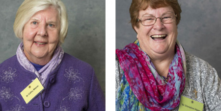 Sr Cathy Meese and Sr Christine Henry (Sisters of Charity/Tim Bauer)