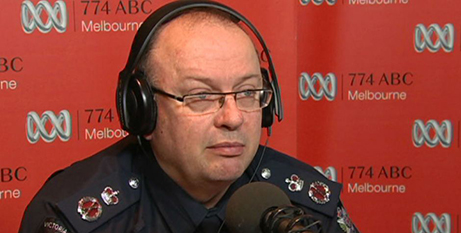 Victoria Police chief  Graham Ashton (ABC News)